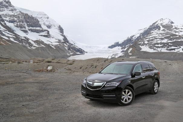 2014 Acura MDX - Athabasca Glacier, Icefields Parkway