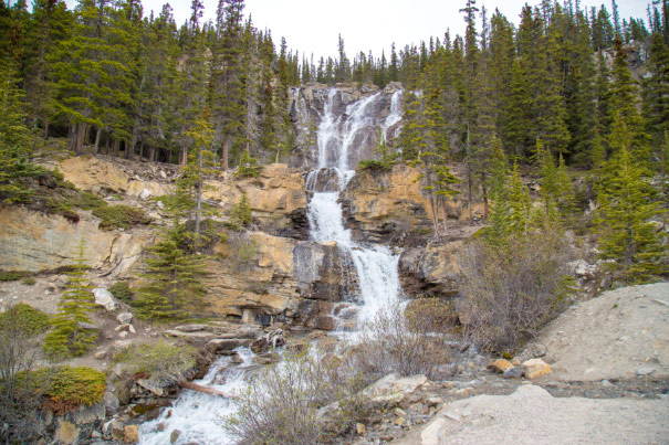 Tangle Falls, Icefields Parkway, Jasper National Park