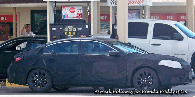 Spied: 2016 Acura ILX? – Acura Connected