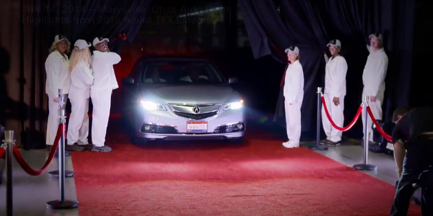 2015 Acura TLX Lineoff Event