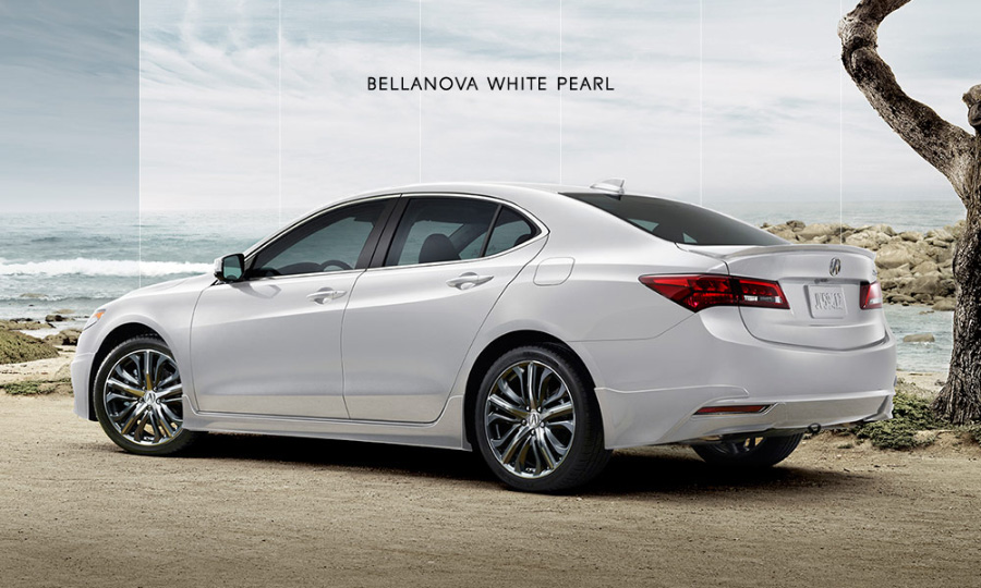 2017 Acura Tlx In Bellanova White Pearl