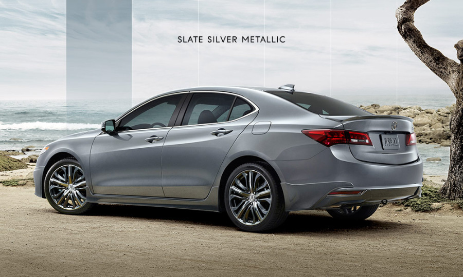 2015 Acura TLX in Slate Silver Metallic – Acura Connected