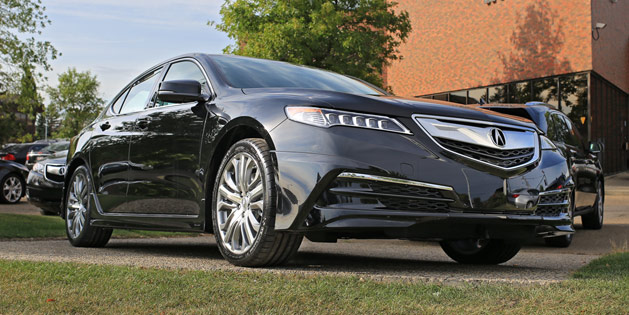 2015 Acura TLX with Accessories