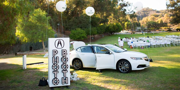 The PopUp Dinner L.A. - Acura TLX