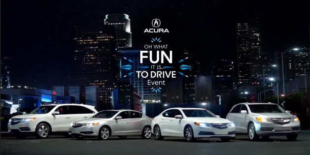 "Acura ""Oh What Fun It Is To Drive"" Event"