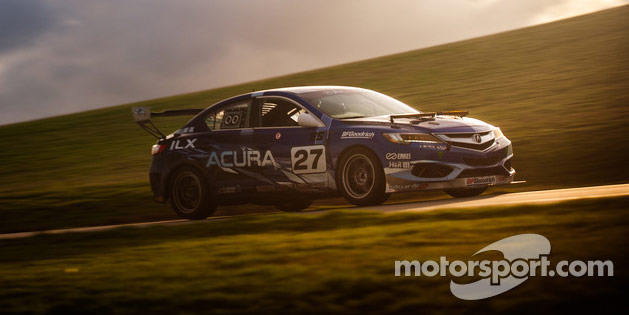 #27 Acura ILX at the 2014 25 Hours of Thunderhill