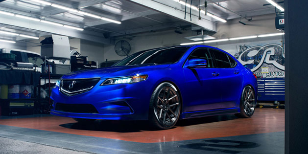 Galpin Auto Sports Acura TLX on ADV.1 Wheels