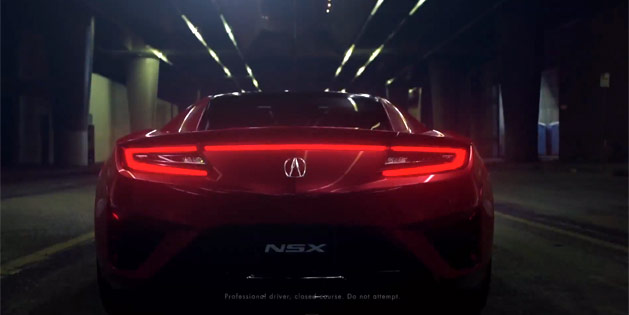 Next Generation Acura NSX Unveiled