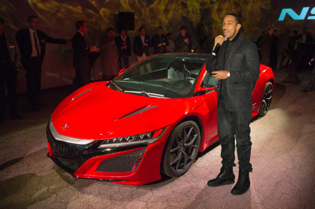Ludacris Comments On The Acura NSX Acura Connected - Nsx acura for sale