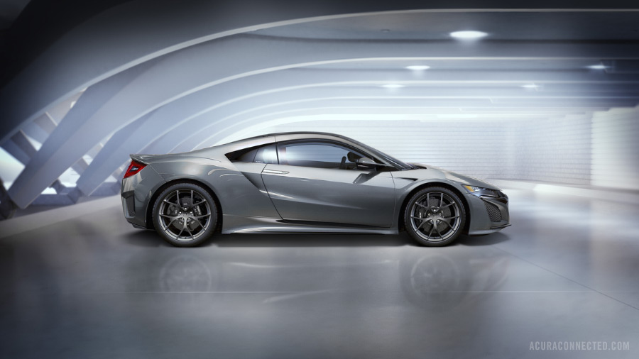 2016 Acura Nsx Silver Acura Connected