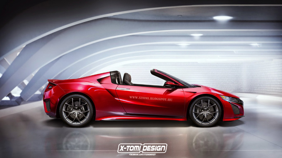 Nsx Roadster Acura Connected