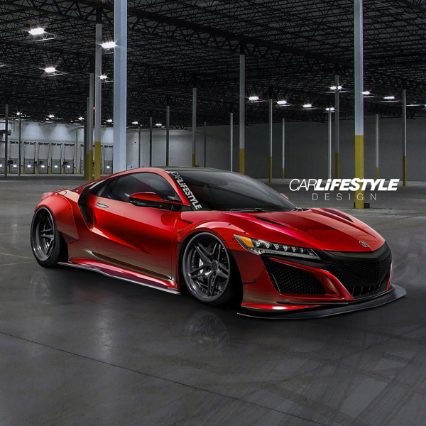 2016 Acura NSX Widebody Render