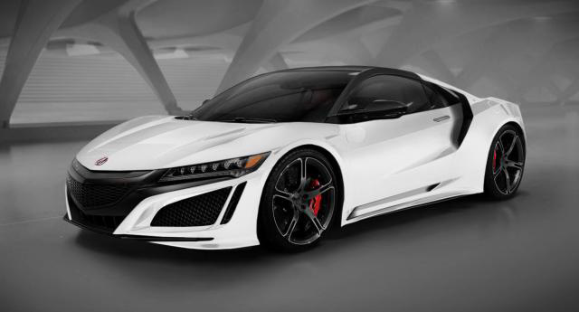 2016 Acura NSX Type-R in Championship White - Sinh-Truong