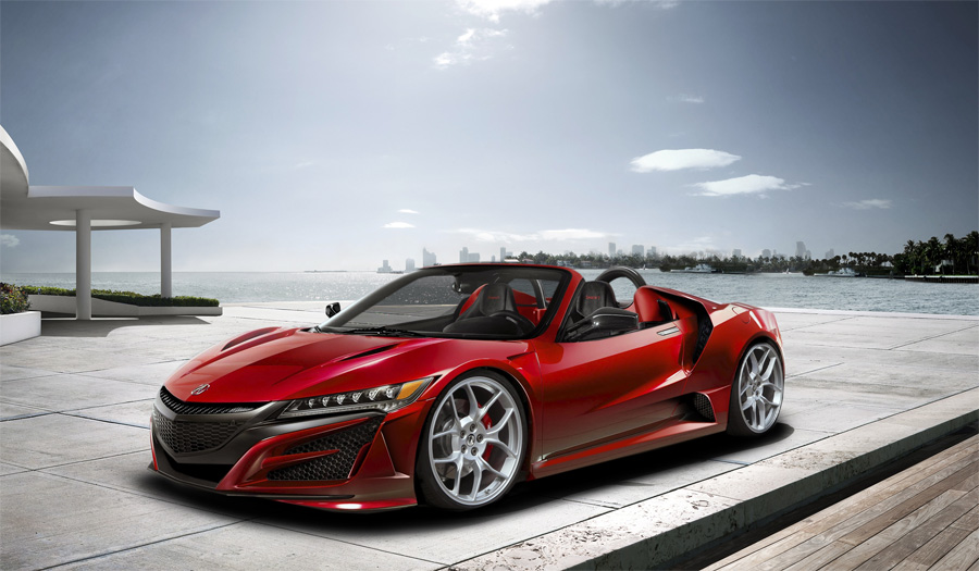 Acura NSX Roadster by jasiovt – Acura Connected