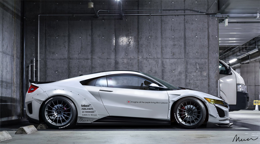 2016 Acura NSX Render Compilation Part 2 – Acura Connected