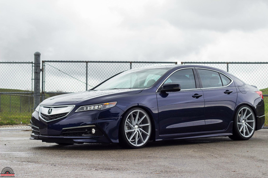 Luis' Fathom Blue Pearl 2015 Acura TLX – Acura Connected