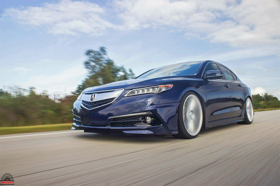 Luis' Fathom Blue Pearl 2015 Acura TLX | Acura Connected