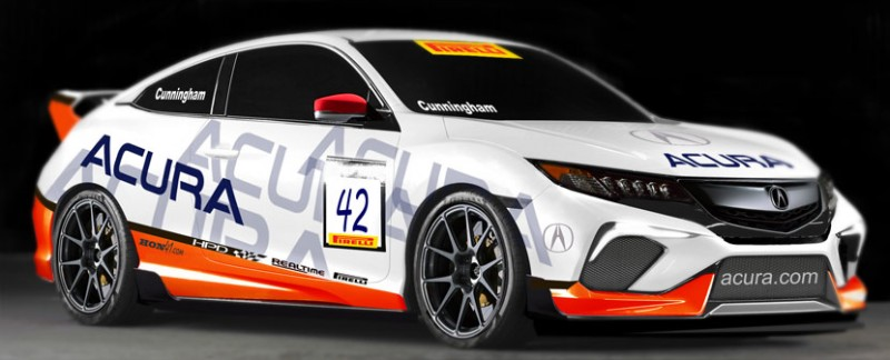 RealTime Racing Acura Coupe Concept