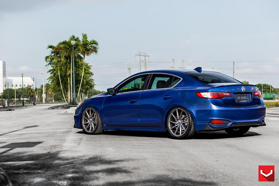Gallery Acura ILX On Vossen CVT Wheels Acura Connected - Acura ilx wheels