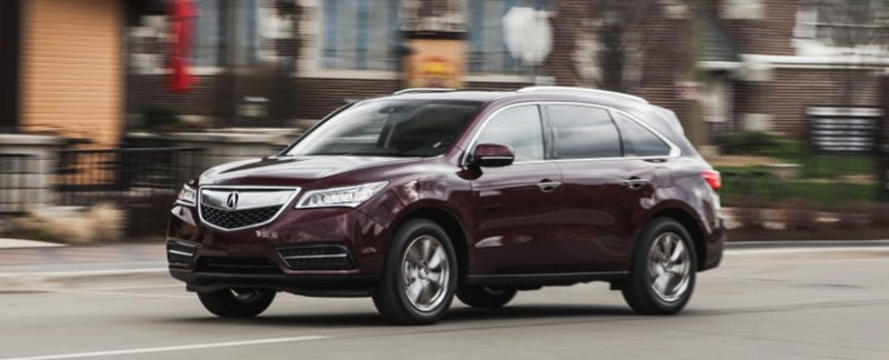 Car and Driver: 2016 Acura MDX SH-AWD Instrumented Test