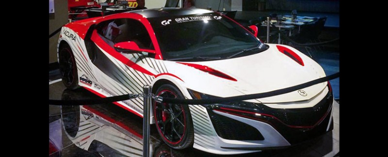 Pikes Peak International Hill Climb Acura NSX Pace Car