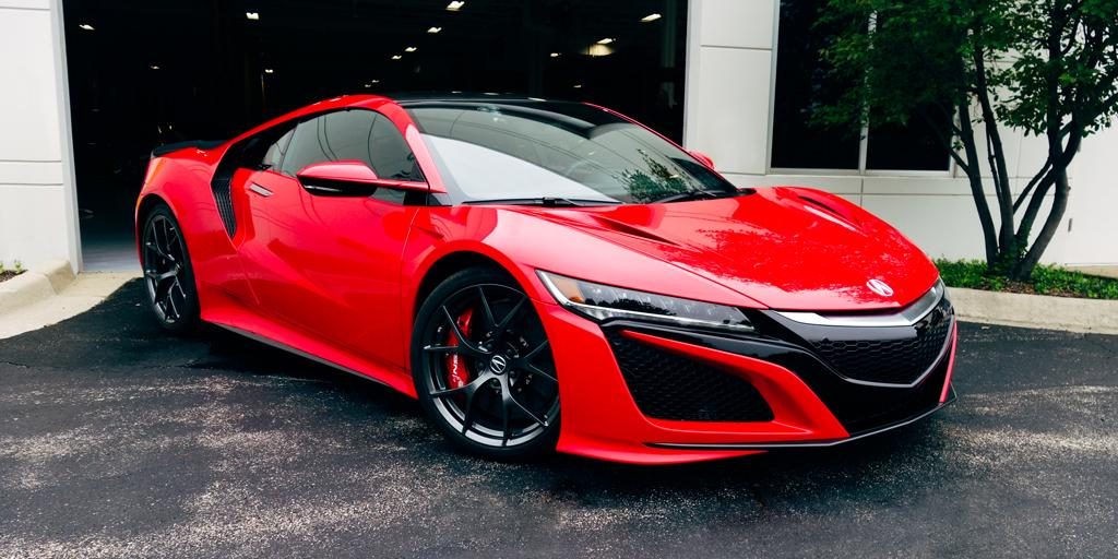 Next Generation Acura NSX Embarks on Cross-Country Road ...