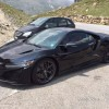 Black 2016 Acura NSX in Europe