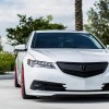 "2015 Acura TLX ""Red Bottoms"" on Vossen VFS-2"