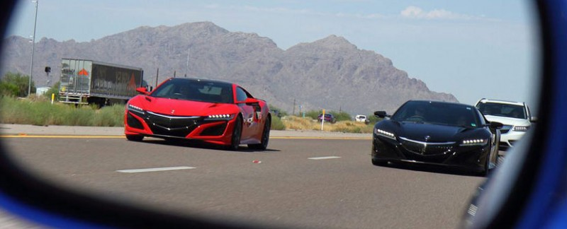 #AcuraNSXOnTour Interstate 10 Arizona