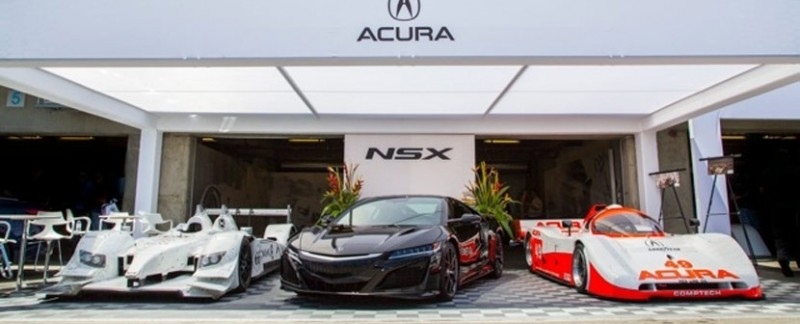 Acura at the 2015 Rolex Monterey Motorsports Reunion
