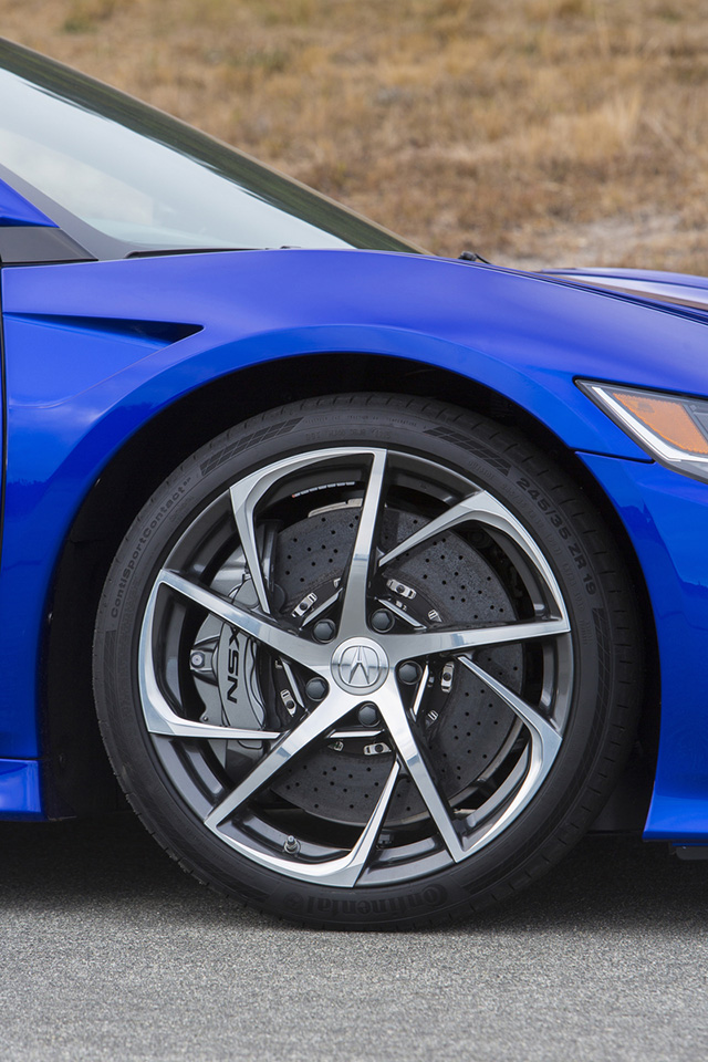 2016 acura nsx in nouvelle blue pearl interwoven wheels acura