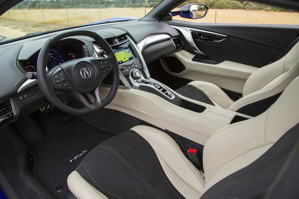 2016 acura nsx interior acura connected. Black Bedroom Furniture Sets. Home Design Ideas