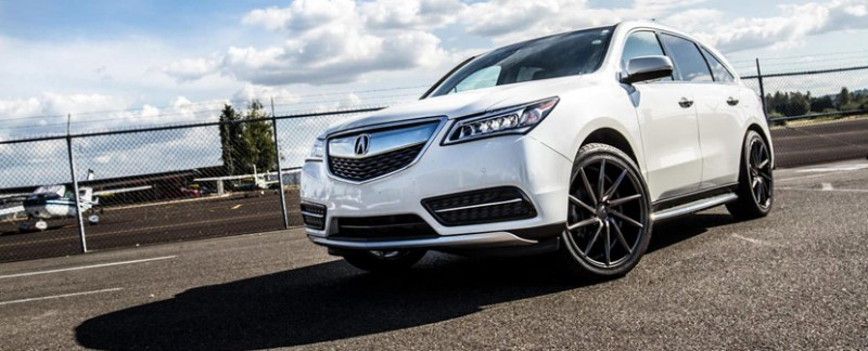 "2016 Acura MDX on Vossen 22"" CVT Wheels"