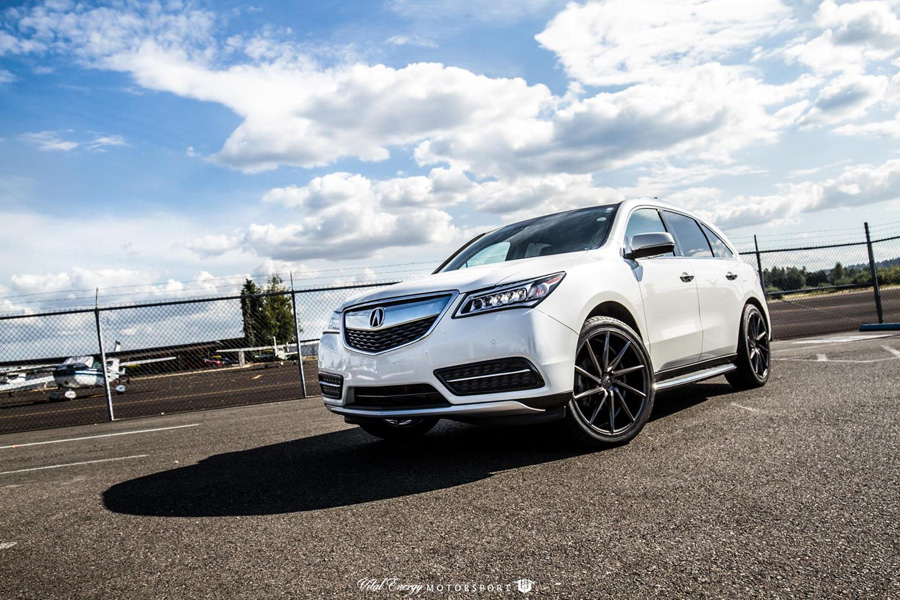 gallery 2016 acura mdx on 22 vossen cvt wheels acura. Black Bedroom Furniture Sets. Home Design Ideas