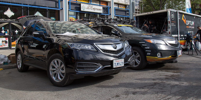 Optum Pro Cycling Acura Rdx At Tour Of Alberta Acura
