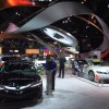 Acura Booth. 2015 LA Auto Show. Photo by Tyson Hugie.