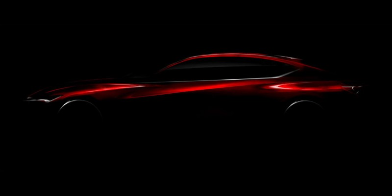 Acura Precision Concept to Debut at NAIAS S2016