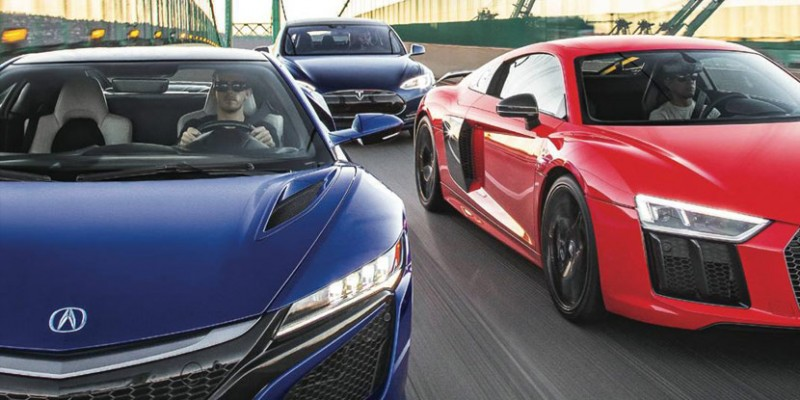 2017 Acura NSX - Motor Trend February 2016 Issue