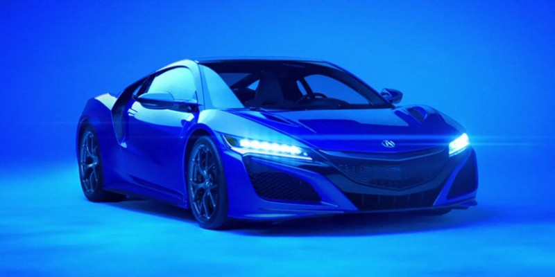 Acura NSX - What He Said Super Bowl Commercial