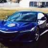 Acura NSX Leads the 2016 Rose Parade as Official Pace Car. Photo by Acura