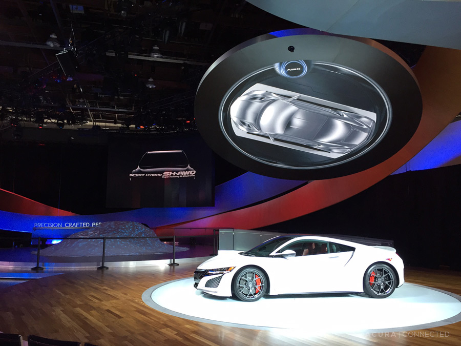 Snapshots: Acura Booth at NAIAS 2016 – Acura Connected