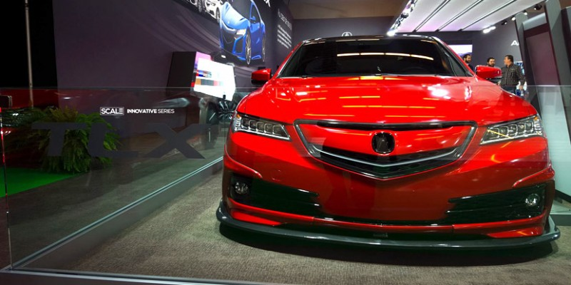 Acura Canada's Tuner TLX. Photo via SCALE Suspension.