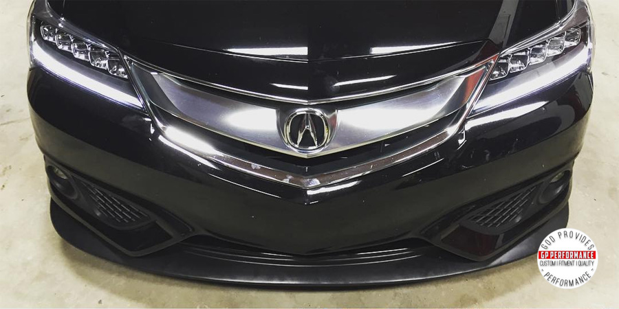 Snapshot Acura ILX With Custom Front Lip Acura Connected - 2018 acura tsx front lip