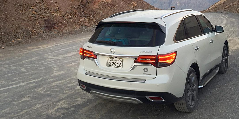 2015 Acura MDX. Photo by Fahad Alshaya. – Acura Connected