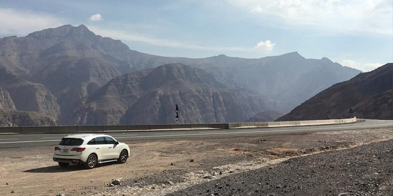 Acura MDX Road Trip in the Middle East