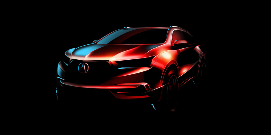 Acura MDX to Debut at 2016 New York International Auto Show – Acura ...