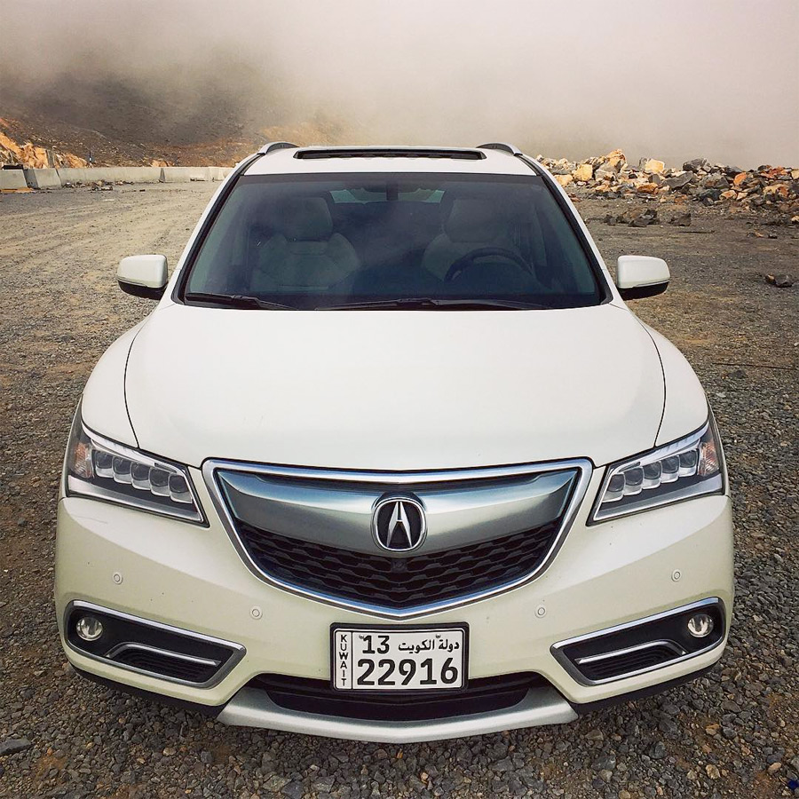 New Acura Suv: Gallery: Acura MDX Road Trip In The Middle East