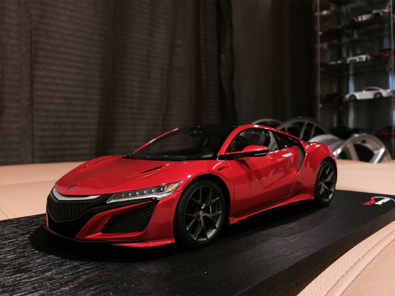 1/18 Scale 2017 Acura NSX by TopSpeed Model. Photo via ...