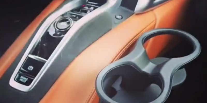 2017 Acura NSX Cup Holder