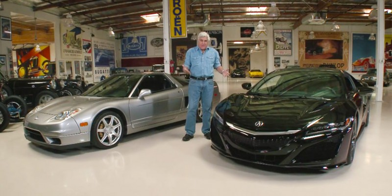 2017 Acura NSX on Jay Leno's Garage